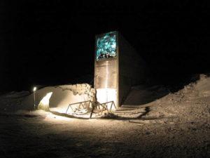 Svalbard Vault Entrance